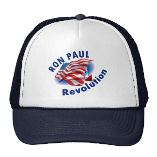 Ron Paul Revolution 2012 Trucker Hat