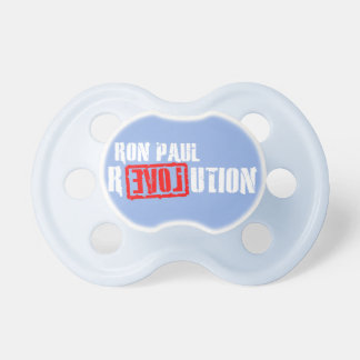 Ron Paul Revolution - Baby Blue Pacifiers BooginHead Pacifier