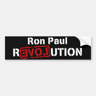 Ron Paul Revolution Bumper Sticker for President