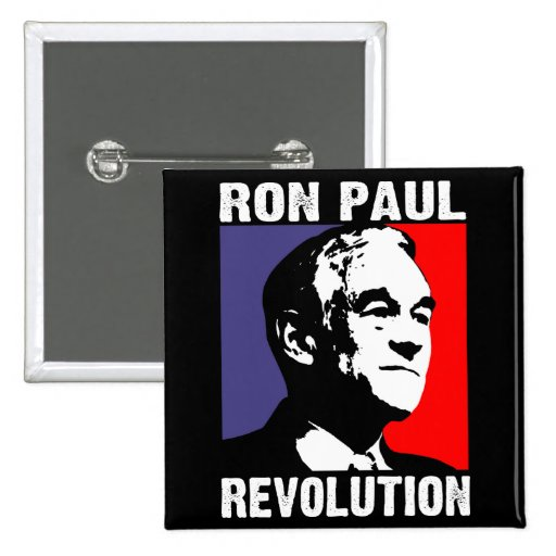 Ron Paul Revolution Pinback Buttons