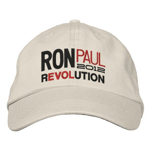 Ron Paul Revolution Embroidered Hats