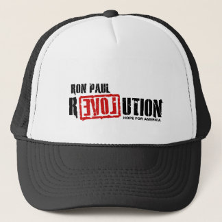 Ron Paul Revolution - Hope For America Trucker Hat