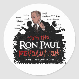Ron Paul Revolution Large Sticker