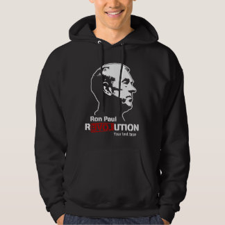 Ron Paul Revolution Personalized Hoodie