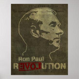 Ron Paul Revolution Print