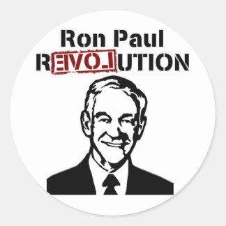 Ron Paul Revolution Round Sticker
