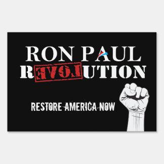 Ron Paul Revolution Sign