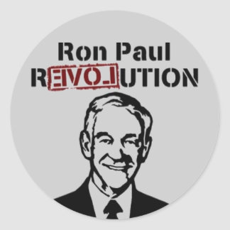 Ron Paul Revolution stickers