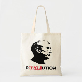 Ron Paul Revolution tote bag