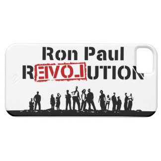 Ron Paul rEVOLution with Supporters iPhone 5 Cases