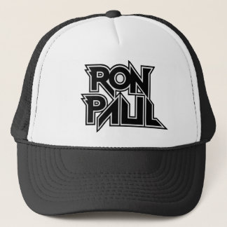 Ron Paul Rock Trucker Hat