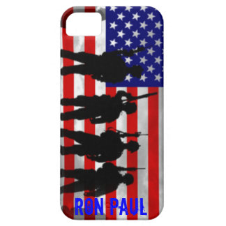 Ron Paul Support Our Troops iPhone 5 case
