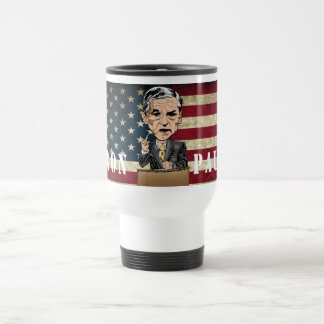 RON PAUL TRAVELER/COMMUTER MUG