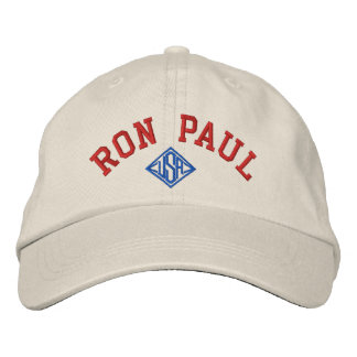 RON PAUL U.S.A. UNISEX Basic Adjustable Cap -Stone Embroidered Baseball Caps