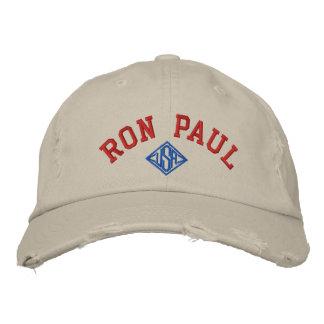 RON PAUL U.S.A. UNISEX Distressed Chino Twill Cap Baseball Cap