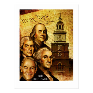 "Ron Paul ""We The People"" Postcard"
