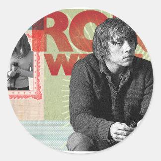 Ron Weasley 4 Round Sticker