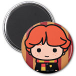 Ron Weasley Cartoon Character Art 2 Inch Round Magnet