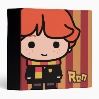Ron Weasley Cartoon Character Art Binder