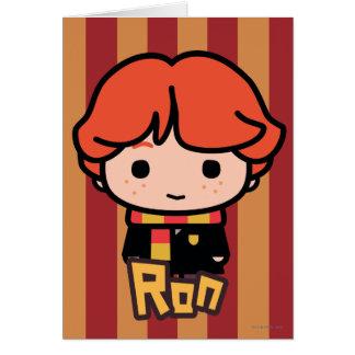 Ron Weasley Cartoon Character Art Card