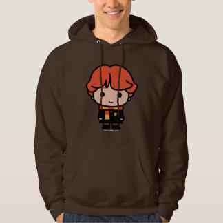 Ron Weasley Cartoon Character Art Hoodie