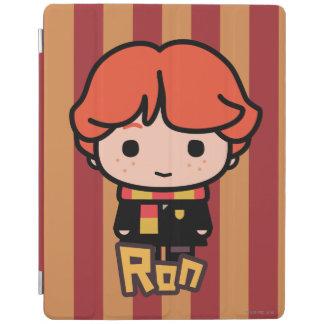 Ron Weasley Cartoon Character Art iPad Cover