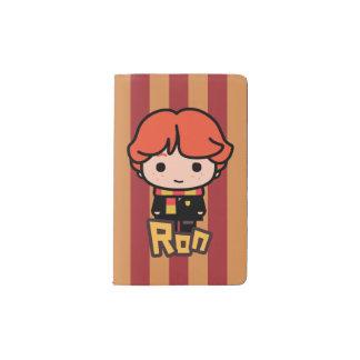 Ron Weasley Cartoon Character Art Pocket Moleskine Notebook