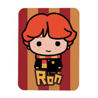 Ron Weasley Cartoon Character Art Rectangular Photo Magnet