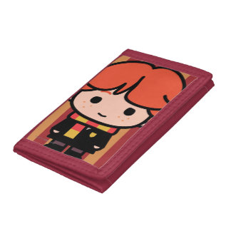 Ron Weasley Cartoon Character Art Trifold Wallet