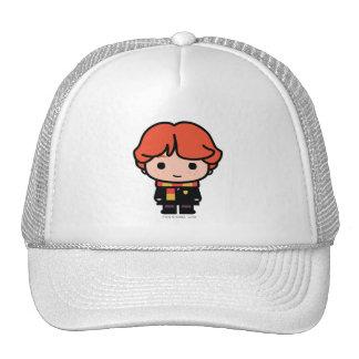 Ron Weasley Cartoon Character Art Trucker Hat