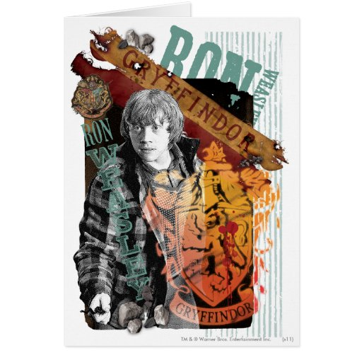 Ron Weasley Collage 1 Greeting Card