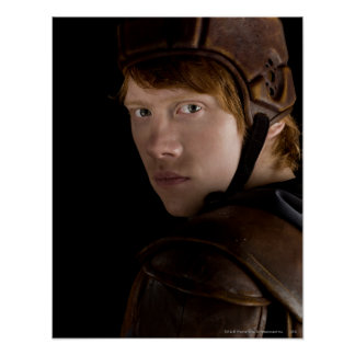Ron Weasley Geared Up Poster