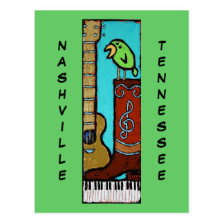 Ron York Art Nashville, TN postcard