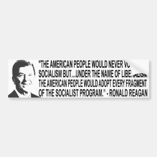 Ronal Reagan Quote Bumper Sticker