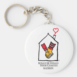 Ronald McDonald Hands Basic Round Button Keychain