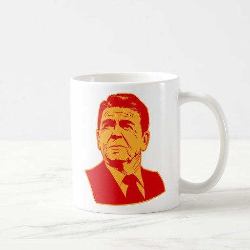 Ronald Reagan 1980 retro portrait Mugs