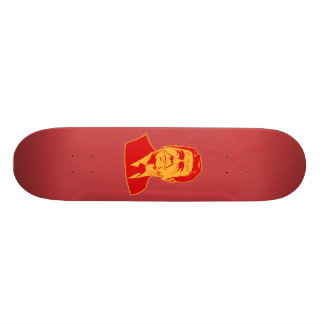 Ronald Reagan 1980 retro portrait Skate Deck