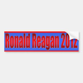 Ronald Reagan 2012 Bumper Sticker