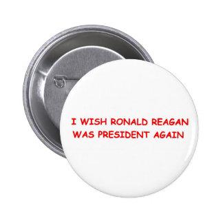 Ronald Reagan Again Button