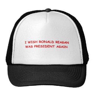 Ronald Reagan Again Hat Version Two