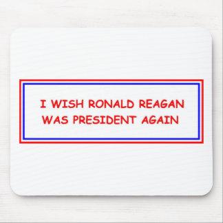 Ronald Reagan Again Mousepad