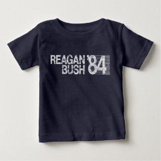 Ronald Reagan Bush 84 Retro Election T-shirts