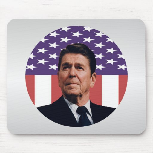 Ronald Reagan Freedom and Liberty Mouse Pads