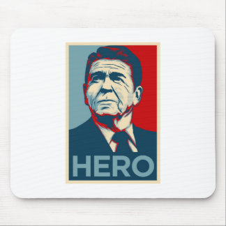 Ronald Reagan Hope Hero Poster - Reagan Bush 84 Mouse Pad