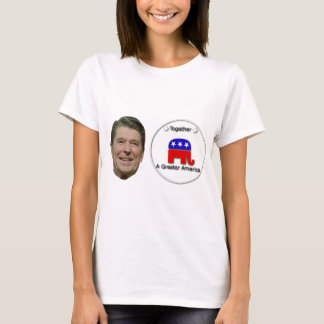 Ronald Reagan Make America Great T-Shirt