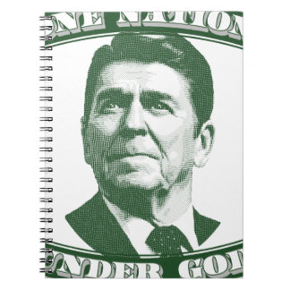 Ronald Reagan One Nation Under God Notebooks