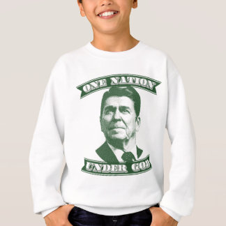 Ronald Reagan One Nation Under God Sweatshirt