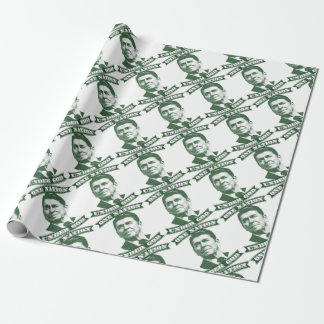 Ronald Reagan One Nation Under God Wrapping Paper
