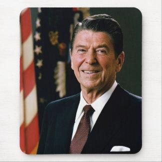 Ronald Reagan Portrait Mouse Pad