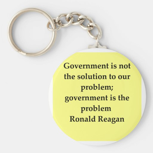 ronald reagan quote key chains